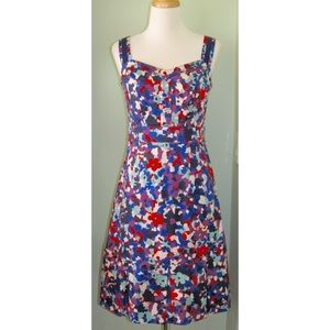 Tory Burch Floral Dress S 4